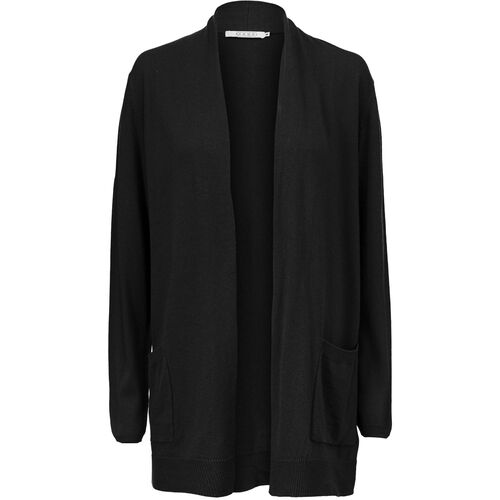 LEONE CARDIGAN, Black, hi-res