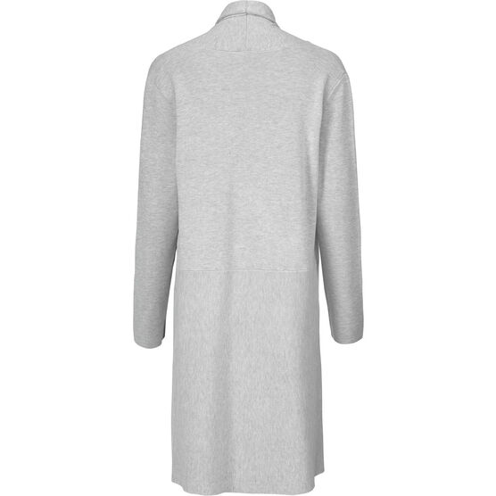 LISA CARDIGAN, Light Grey Melange, hi-res