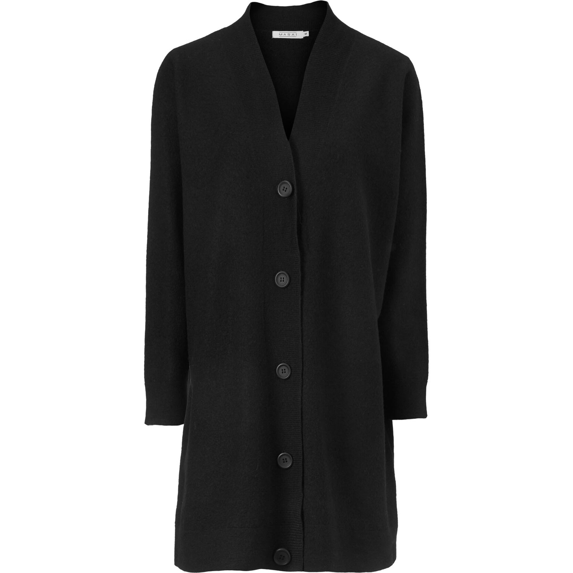 LUCIA CARDIGAN, Black, hi-res