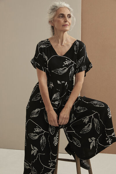 NASIRA JUMPSUIT, Black, hi-res