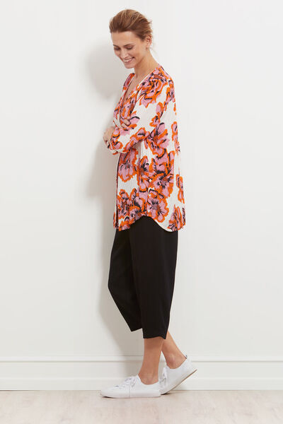 IBIA BLUSE, ROSE TAN, hi-res