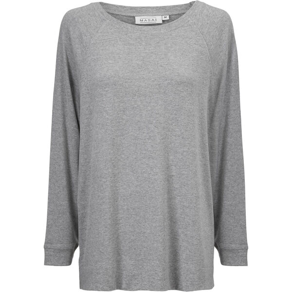 BODIL TOPP, LIGHT GREY MELANGE, hi-res